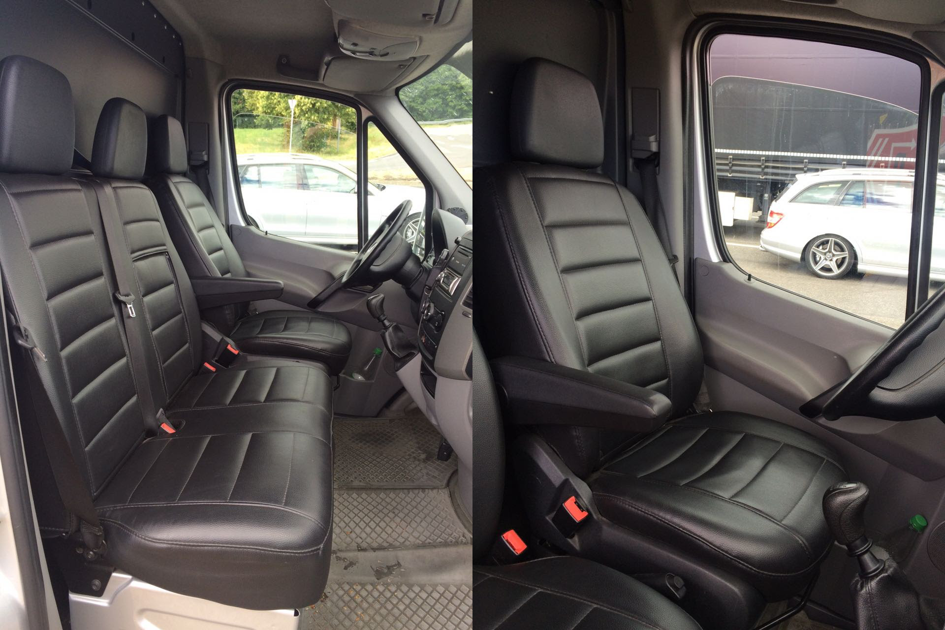 ford transit custom 2013 passform auto sitzbez ge. Black Bedroom Furniture Sets. Home Design Ideas